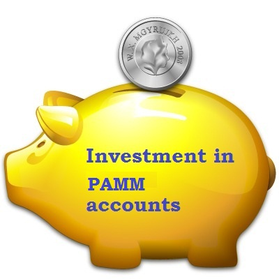 Investment in PAMM accounts